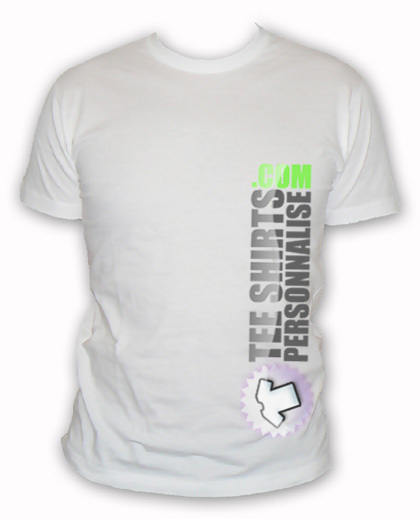 Impression tee shirt personnalisable